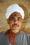 Uomo egiziano Fotografie Stock Libere da Diritti