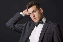 Uomo elegante Fotografia Stock Libera da Diritti