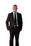 Uomo esecutivo felice di affari corporativi Fotografia Stock Libera da Diritti