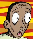 Uomo Eyed largo Immagini Stock Libere da Diritti