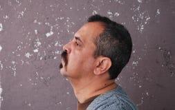Uomo faticoso Fotografie Stock