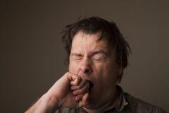 Uomo faticoso Fotografia Stock