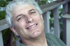 Uomo felice Fotografia Stock Libera da Diritti