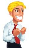 Uomo felice Illustrazione di Stock