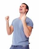 Uomo felice. Fotografia Stock Libera da Diritti