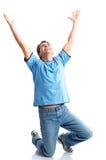 Uomo felice Immagine Stock