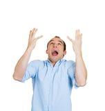 Uomo frustrato Fotografie Stock Libere da Diritti