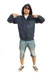 Uomo funky del rapper Fotografia Stock Libera da Diritti