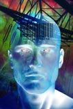 Uomo futuro Fotografie Stock Libere da Diritti