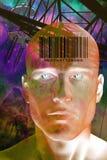 Uomo futuro Fotografia Stock Libera da Diritti