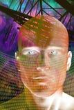 Uomo futuro illustrazione vettoriale