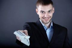 Uomo generoso Immagine Stock