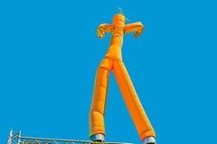 Uomo gonfiabile Fotografia Stock Libera da Diritti