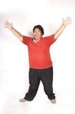 Uomo grasso Fotografie Stock