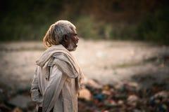 Uomo indiano anziano fotografie stock libere da diritti