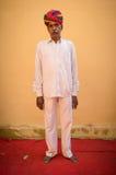 Uomo indiano anziano Fotografia Stock Libera da Diritti