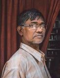 Uomo indiano anziano Fotografia Stock