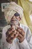 Uomo indiano anziano Fotografie Stock