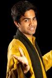 Uomo indiano bello Fotografie Stock Libere da Diritti