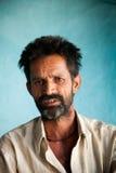 Uomo indiano del paesano Fotografia Stock