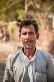 Uomo indiano del paesano Fotografia Stock Libera da Diritti