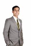 Uomo indiano di affari. Fotografie Stock