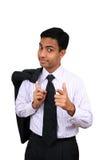 Uomo indiano di affari Immagini Stock