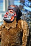 Uomo indiano indigeno in costume tradizionale Immagini Stock