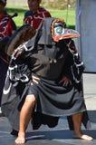 Uomo indiano indigeno in costume tradizionale Fotografia Stock