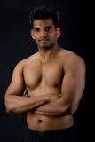 Uomo indiano muscolare Immagini Stock Libere da Diritti