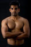 Uomo indiano muscolare Fotografia Stock Libera da Diritti