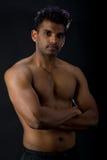 Uomo indiano muscolare Immagine Stock Libera da Diritti