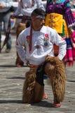 Uomo indigeno di kichwa Fotografia Stock Libera da Diritti