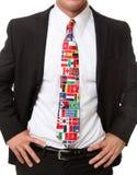 Uomo internazionale di affari Fotografie Stock