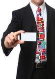 Uomo internazionale di affari Immagine Stock Libera da Diritti