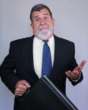 Uomo interrogante Fotografia Stock