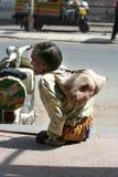 Uomo invalido Fotografia Stock