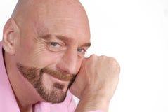 Uomo invecchiato centrale attraente immagine stock