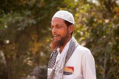 Uomo islamico anziano indiano Immagini Stock