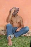 Uomo ispanico Fotografia Stock Libera da Diritti