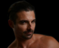 Uomo italiano bello Fotografie Stock