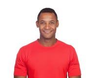 Uomo latino casuale sorridente Fotografia Stock Libera da Diritti