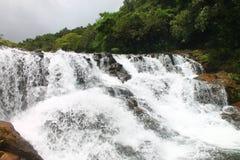 Uomo libero di Aqua Flowing fatto fotografia stock libera da diritti