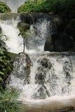 Uomo libero di Aqua Flowing fatto immagine stock libera da diritti