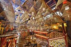Uomo Mo Temple Fotografia Stock