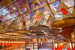 Uomo Mo Temple Immagine Stock