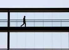 Uomo moderno dell'ufficio Fotografia Stock