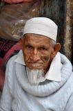 Uomo musulmano a Bangalore, India il 15 luglio 2010 Fotografia Stock Libera da Diritti