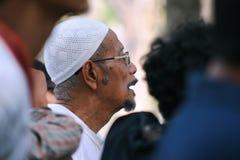 Uomo musulmano indonesiano Fotografia Stock Libera da Diritti