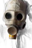 Uomo nel gasmask immagine stock libera da diritti